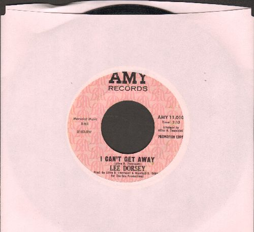 Dorsey, Lee - I Can't Get Away/Cynthia (DJ advance pressing) - EX8/ - 45 rpm Records