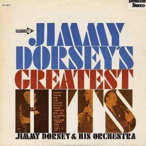 Dorsey, Jimmy & His Orchesta - Jimmy Dorsey's Greatest: Brazil, Tangerine, I Understand, Maria Elena, Parade Of The Milk Bottle Caps (vinyl LP record, simulates STEREO, 1970s issue) - M10/NM9 - LP Records