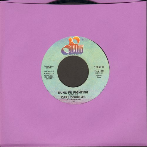 Douglas, Carl - Kung Fu Fighting/Gamblin' Man (This #1 World Hit was inspired by the TV Series and renewed interest in Martial Arts)  - VG6/ - 45 rpm Records