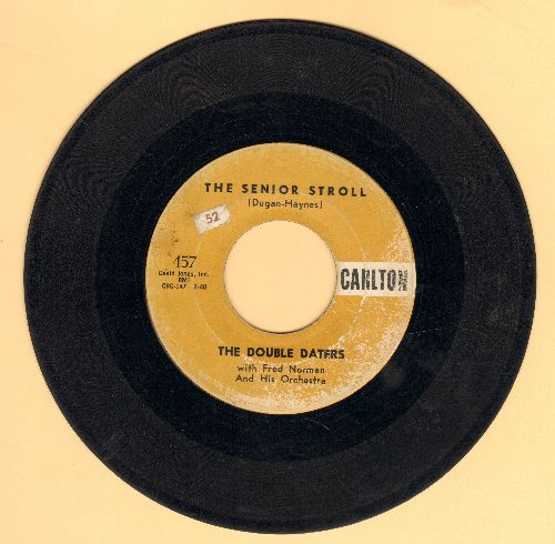 Double Daters - Hey! Blondie Baby/The Senior Stroll - VG6/ - 45 rpm Records