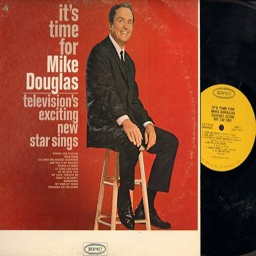 Douglas, Mike - It's Time For Mike Douglas: Young At Heart, Somewhere, Stranger On The Shore, Dear Heart (vinyl MONO LP record) - M10/VG7 - LP Records