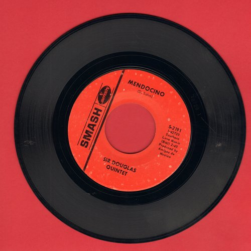 Douglas, Sir Quintet - Mendocino/I Wanna Be Your Mama Again - VG6/ - 45 rpm Records