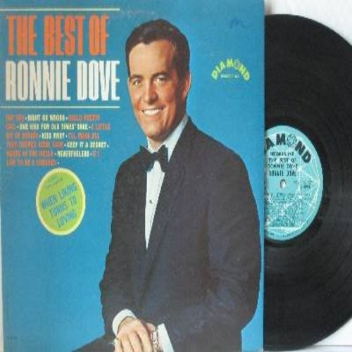 Dove, Ronnie - The Best Of: Say You, Right Or Wrong, Kiss Away, A Little Bit Of Heaven (vinyl MONO LP record) - EX8/EX8 - LP Records