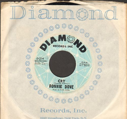 Dove, Ronnie - Cry/Autumn Rhapsody (with RARE Diamond company sleeve) - NM9/ - 45 rpm Records