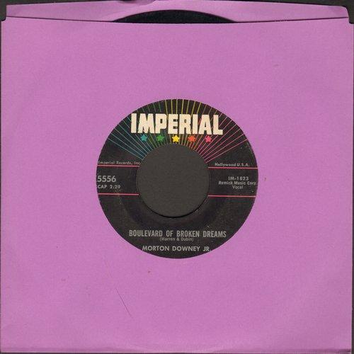 Downey, Morton Jr. - Boulevard Of Broken Dreams/Proud Possession - VG7/ - 45 rpm Records