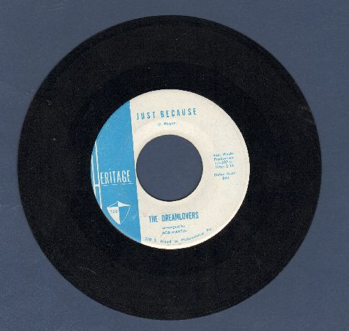 Dreamlovers - When I Get Married/Just Because - EX8/ - 45 rpm Records