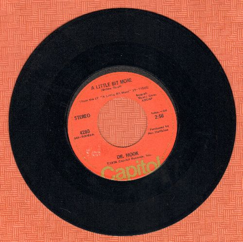 Dr. Hook - A Little Bit More/A Couple More Years  - EX8/ - 45 rpm Records