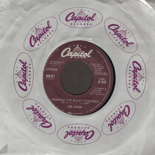 Dr. Hook - Sharing The Night Together/You Make My Pants Want To Get Up And Dance - NM9/ - 45 rpm Records