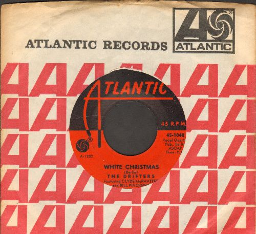 Drifters - White Christmas/The Bells Of St. Mary's (with Atlantic company sleeve) - EX8/ - 78 rpm