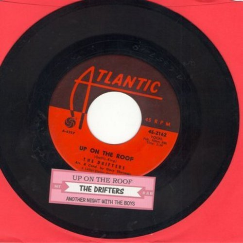 Drifters - Up On The Roof/Another Night With The Boys (with juke box label) - VG7/ - 45 rpm Records