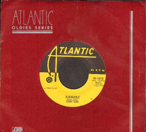 Drifters - Adorable/Steamboat (yellow label re-issue with Atlantic company sleeve) - M10/ - 45 rpm Records