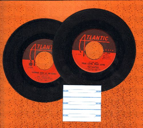 Drifters - 2 for 1 Special: True Love, True Love/Saturday Night At The Movies (2 first issue 45rpm records for the price of 1!) (minor wol) - VG7/ - 45 rpm Records