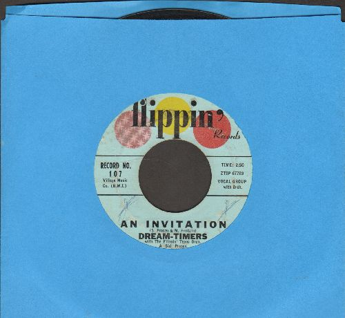 Dream-Timers - An Invitation/The Dancin' Lady - VG7/ - 45 rpm Records