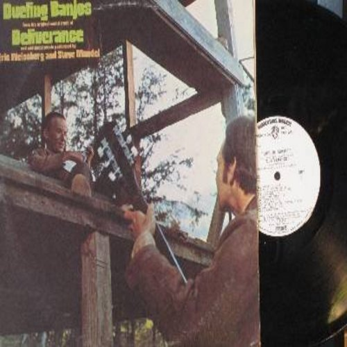 Weissberg, Eric & Steve Mandel - Dueling Banjos from the original sound track of Deliverance and additional music performed by Eric Weissberg and Steve Mandel (vinyl STEREO LP record, DJ advance copy) - M10/EX8 - LP Records