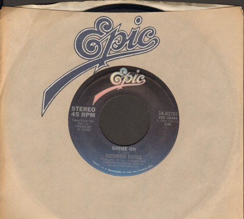 Duke, George - Shine On/Positive Energy - EX8/ - 45 rpm Records