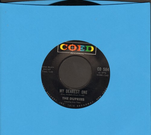 Duprees - Why Don't You Believe Me/My Dearest One - EX8/ - 45 rpm Records