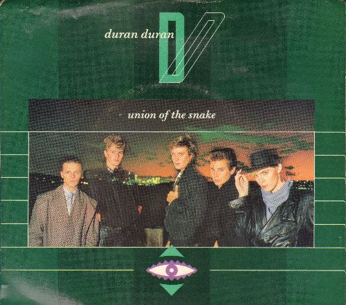 Duran Duran - Union Of The Snake/Secret October (with picture sleeve) - NM9/VG7 - 45 rpm Records