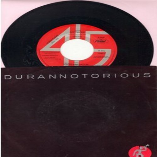 Duran Duran - Durannotorious: Notorious/Winter Marches On (with picture sleeve) - NM9/VG7 - 45 rpm Records