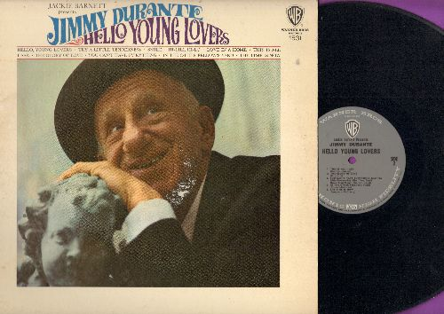 Durante, Jimmy - Hello Young Lovers: Smile, Hi-Lili Hi-Lo, The Glory Of Love, Try A Little Tenderness (vinyl MONO LP record) - EX8/VG7 - LP Records