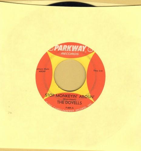 Dovells - Stop Monkeyin' Around/No No No  - EX8/ - 45 rpm Records