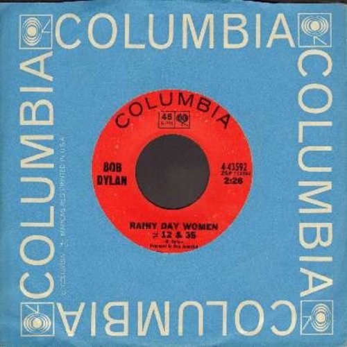 Dylan, Bob - Rainy Day Woman #12 & 35/Pledging My Time (with Columbia company sleeve) - EX8/ - 45 rpm Records