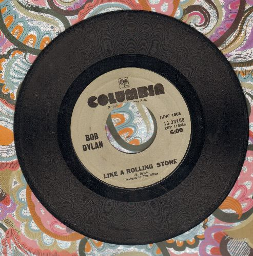 Dylan, Bob - Like A Rolling Stone/Rainy Day Woman #12 & 35 (double-hit re-issue) - VG7/ - 45 rpm Records