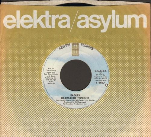Eagles - Heartache Tonight/Teenage Jail (with Elektra company sleeve) - EX8/ - 45 rpm Records