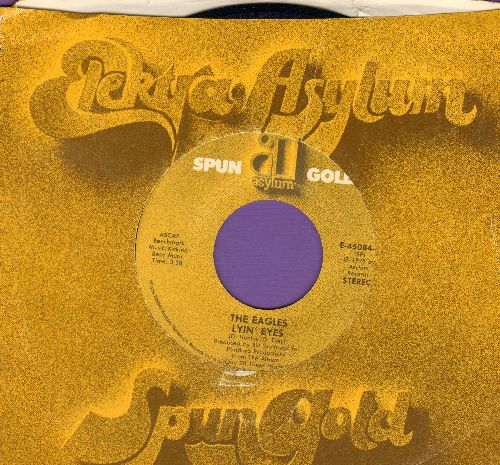 Eagles - Lyin' Eyes/Take It To The Limit (reissue with company sleeve) - EX8/ - 45 rpm Records