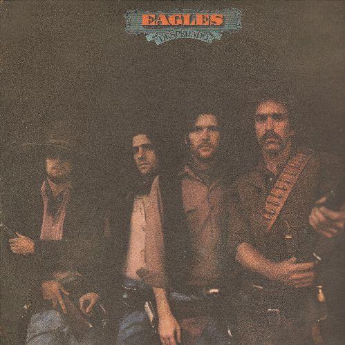 Eagles - Desperado: Doolin-Dalton, Tequila Sunrise, Saturday Night, Bitter Creek (vinyl STEREO LP record) (torn cover) - EX8/EX8 - LP Records