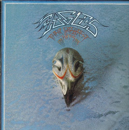 Eagles - Their Greatest Hits 1971-1975: Take It Easy, Lyin' Eyes, Desperado, Tequila Sunrise, Best Of My Love (vinyl STEREO LP record) - EX8/EX8 - LP Records