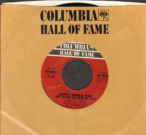 Earth, Wind & Fire - Got To Get You Into My Life/On Your Face (double-hit re-issue with Columbia company sleeve)  - NM9/ - 45 rpm Records