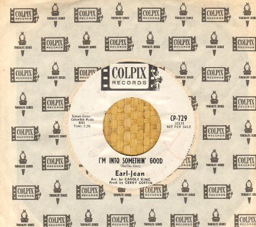 Earl-Jean - I'm Into Something Good/We Love And Learn (DJ advance pressing with RARE Colpix company sleeve) - NM9/ - 45 rpm Records