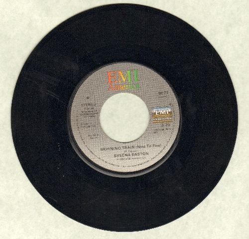Easton, Sheena - Morning Train (Nine To Five)/Calm Before The Storm  - VG7/ - 45 rpm Records