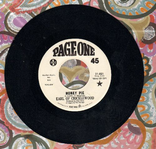 Earl Of Cricklewood - Honey Pie/You Turned A Nightmare Into A Dream - M10/ - 45 rpm Records
