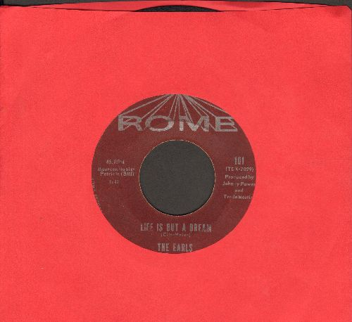 Earls - Life Is But A Dream/It's You - VG6/ - 45 rpm Records