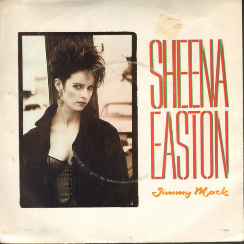 Easton, Sheena - Jimmy Mack/Money Back Guarantee (with picture sleeve) - NM9/VG7 - 45 rpm Records