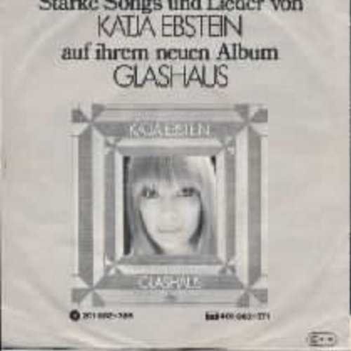 Ebstein, Katja - Theater  (Germany's Entry To Grand Prix D'Eurovision 1981!) w/pic - NM9/EX8 - 45 rpm Records
