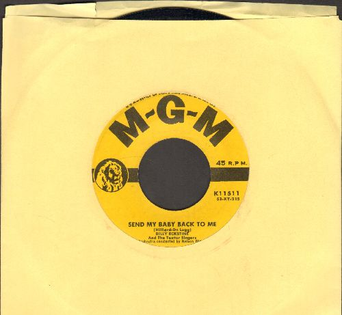 Eckstine, Billy - Send My Baby Back To Me/I Laugh To Keep From Crying  - NM9/ - 45 rpm Records