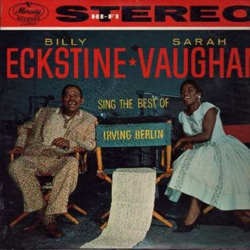 Eckstine, Billy & Sarah Vaughan - Sing The Best If Irving Berlin: Cheek To Cheek, Always, The Girl That I Marry, Easter Parade, Alexander's Ragtime Band (vinyl STEREO LP record) - EX8/EX8 - LP Records