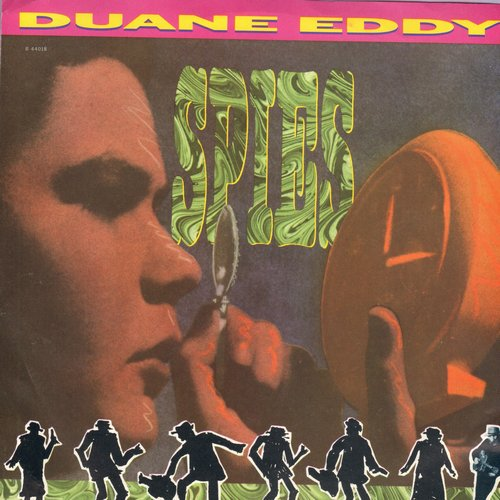 Eddy, Duane - Spies (double-A-sided DJ pressing with picture sleeve) - M10/NM9 - 45 rpm Records