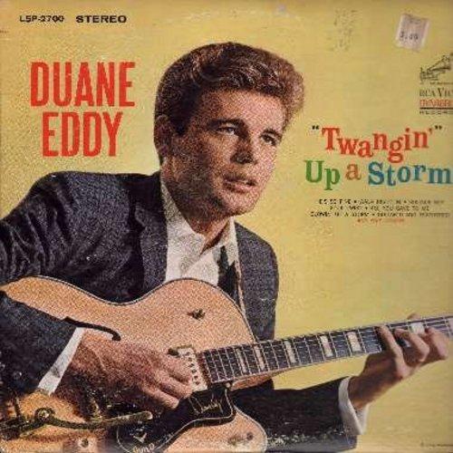 Eddy, Duane - Twangin' Up A Storm!: Walk Right In, He's So Fine, Beach Bound, Soldier Boy, Soul Twist (vinyl STEREO LP record) - NM9/VG7 - LP Records