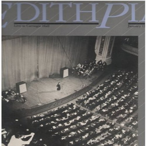 Piaf, Edith - Edith Piaf - Live at Carnegie Hall January 13, 1957 (2 vinyl LP record set, DJ advance pressing, re-issue of vintage recordings, US Pressing, sung in French) - M10/EX8 - LP Records