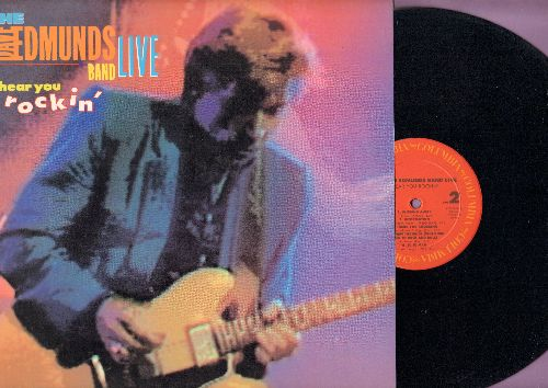 Edmunds, Dave Band - I Hear You Knockin': Girl Talk, The Wanderer, I Knew The Bride (When She Used To Rock And Roll), Slipping Away (vinyl LP record) - NM9/NM9 - LP Records
