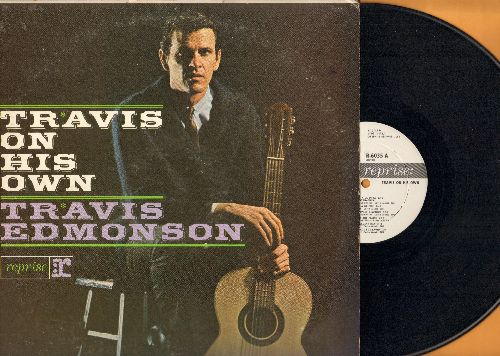 Edmonson, Travis - Travis On His Own: Conata La Mera (Guantanamera), Judgement Day, Ellen, One For The Money (vinyl MONO LP record, DJ advance pressing) - NM9/VG7 - LP Records
