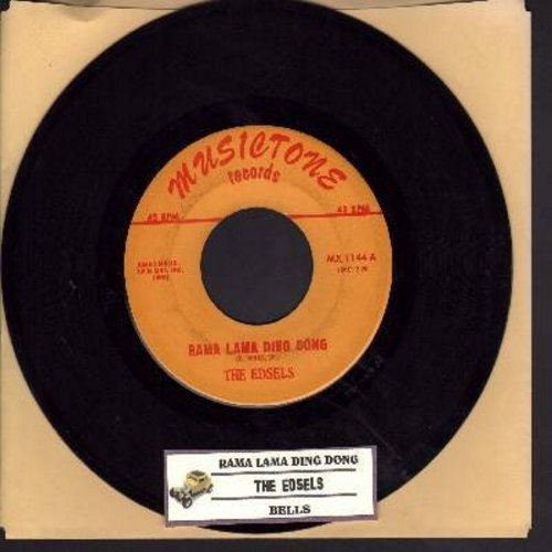 Edsels - Rama Lama Ding Dong/Bells  - EX8/ - 45 rpm Records