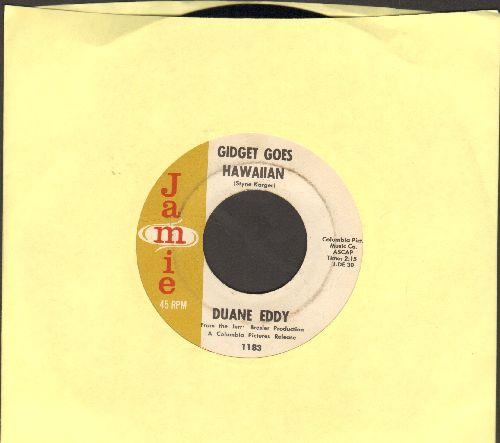 Eddy, Duane - Gidget Goes Hawaiian/Theme From Dixie  - EX8/ - 45 rpm Records