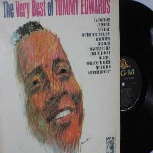 Edwards, Tommy - The Very Best Of: It's All In The Game, Melancholy Baby, Please Mr. Sun, I Really Don't Want To Know, Don't Fence Me In (vinyl MONO LP record) - EX8/VG7 - LP Records