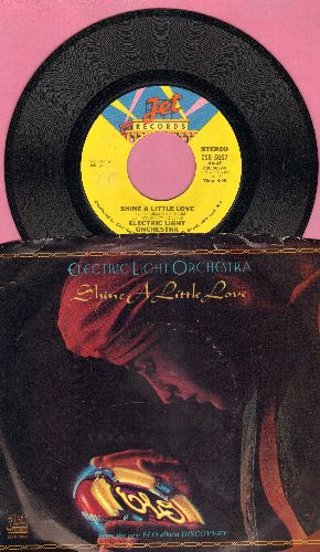 Electric Light Orchestra - Shine A Little Love/Jungle (with picture sleeve) - NM9/EX8 - 45 rpm Records