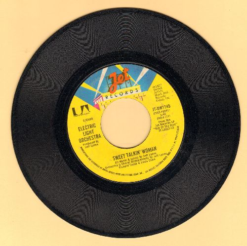 Electric Light Orchestra - Sweet Talkin' Woman/Fire On High  - NM9/ - 45 rpm Records