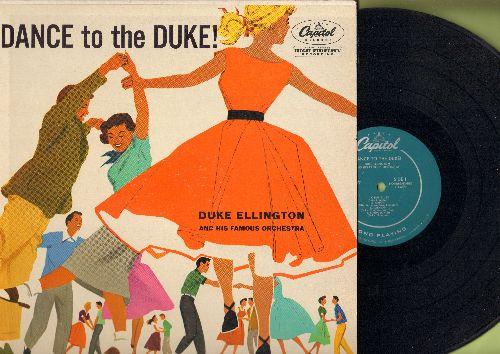 Ellington, Duke & His Orchestra - Dance To The Duke: C-Jam Blues, Kinda Dukish, Caravan, Night Time (vinyl MONO LP record, 1954 first pressing) - NM9/EX8 - LP Records